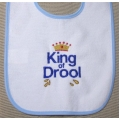 King of Drool Bib