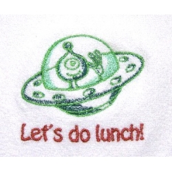 Lets Do Lunch Bib