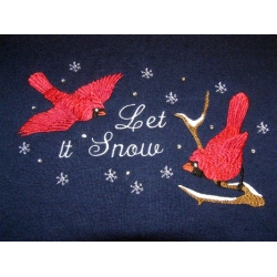 Cardinals - Let it Snow Sweatshirt